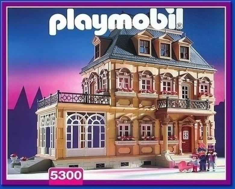 Playmobil evi