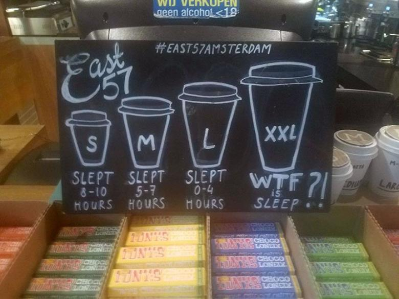 Ne kadar uyumamanız gerektiğini söyleyin, ihtiyacınız olan kahveyi verelim!