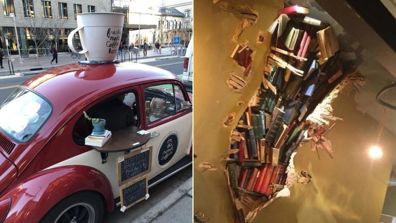 Değişik Konsept ve Mahsulleri ile Yaratıcılıkta Hudut Tanımayan 7 Kahve Dükkanı