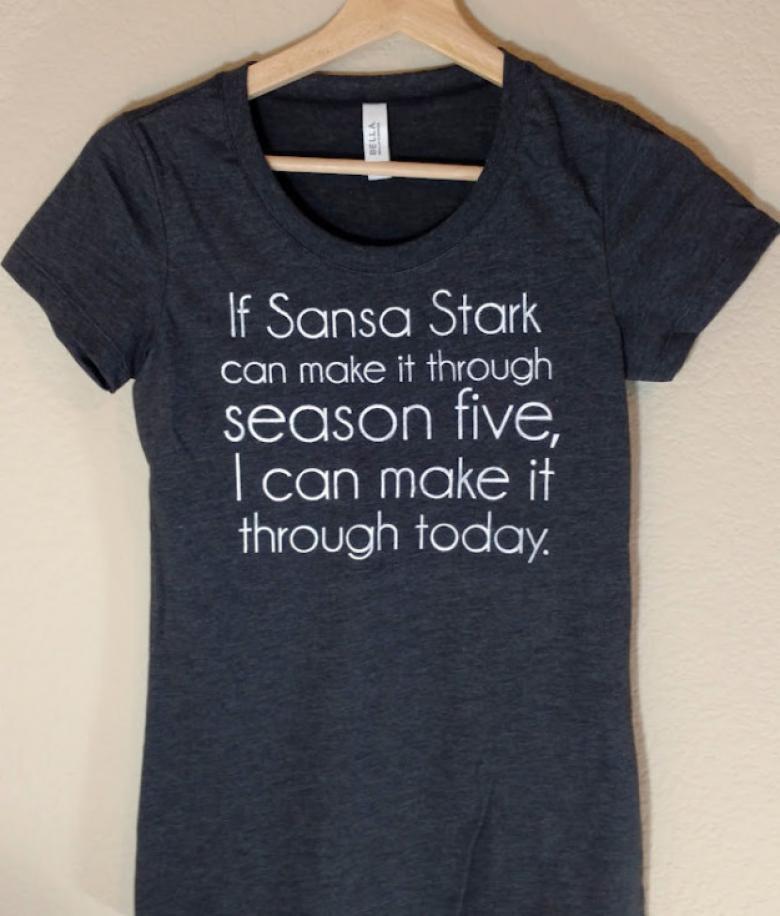 Game of Thrones severlerin bayılacağı bir tişört