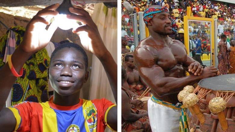Gana'da İnsanların Ne Biçimde Yaşadıklarını Gösteren 11 Natürel Resim