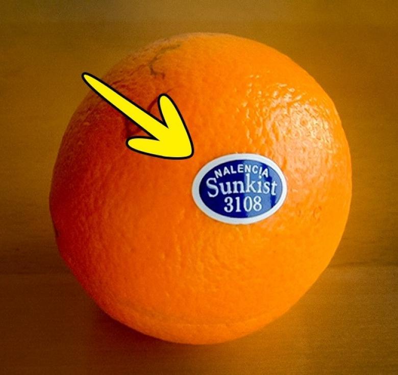 Meyve etiketleri