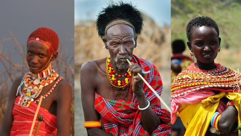 Kenya İnsanının Hayat Stilini Gösteren 12 İlginç Resim