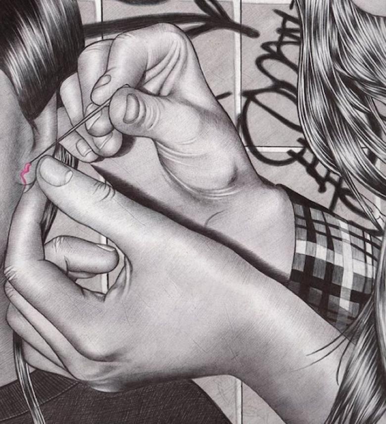 Lise Defteri Karalamalarından Sanata Dönüşen Çizimler