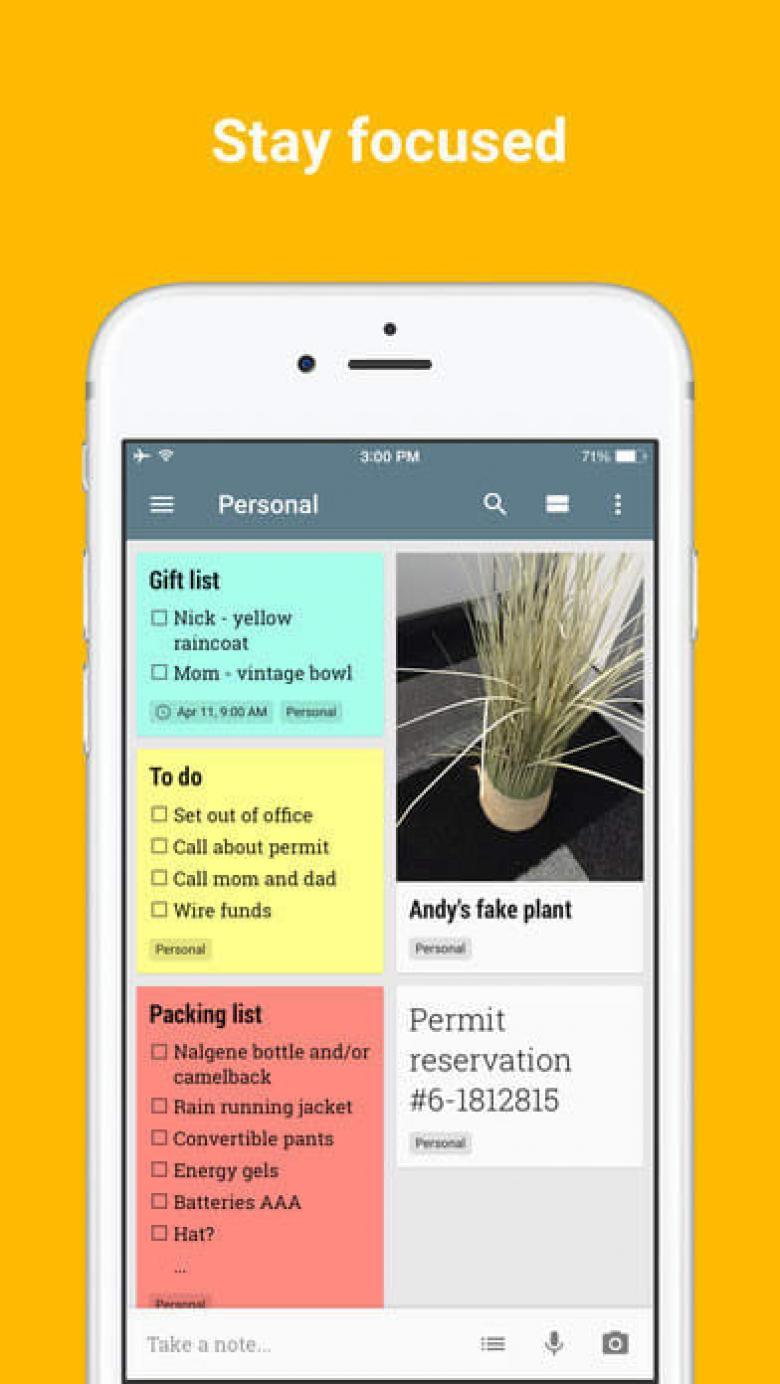 Görselli notlar alabilen akıllı telefon uygulamaları