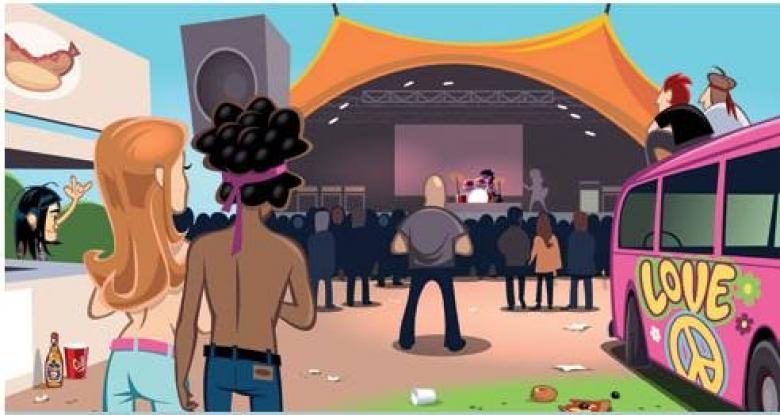 Big Bang, Popmundo Festivali, Popopalooza