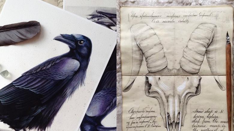 Rus Sanatçının Taslak Defterindeki Hayranlık Uyandıran 18 Çizim