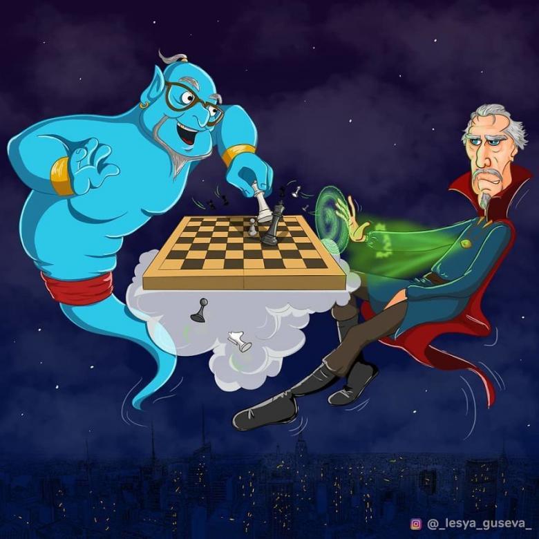 Cin ve Doktor Strange